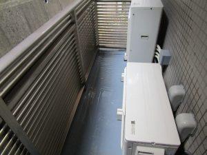 バルコニーのハウスクリーニングを川崎市麻生区南黒川にて【清掃事例880】