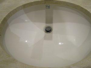 洗面所のハウスクリーニングを川崎市川崎区本町にて【清掃事例874】