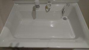 洗面所のハウスクリーニングを川崎市中原区大倉町にて【清掃事例875】