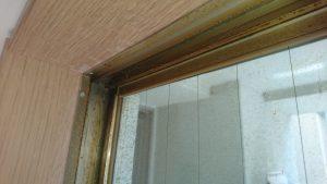 ガラスサッシのハウスクリーニングを川崎市中原区北谷町にて【清掃事例913】