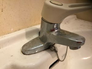 洗面所のハウスクリーニングを川崎市中原区今井南町にて【清掃事例912】