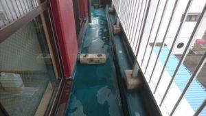 バルコニーのハウスクリーニングを川崎市宮前区平にて【清掃事例900】