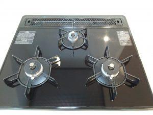 キッチン(五徳)のハウスクリーニングを川崎市高津区下作延にて【清掃事例962】