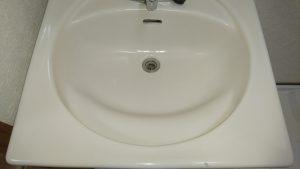 洗面所のハウスクリーニングを川崎市中原区井田三舞町にて【清掃事例959】
