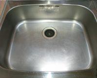 キッチン(シンク)のハウスクリーニングを川崎市中原区苅宿にて【清掃事例961】