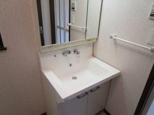 洗面所のハウスクリーニングを横浜市戸塚区東俣野町にて【清掃事例976】