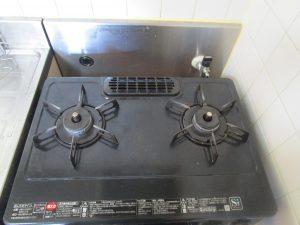 キッチン(五徳)のハウスクリーニングを横浜市戸塚区影取町にて【清掃事例974】