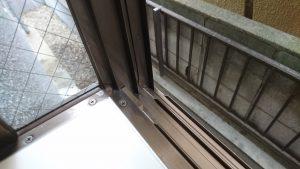 ガラスサッシのハウスクリーニングを川崎市中原区今井南町にて【清掃事例983】
