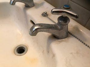 洗面所のハウスクリーニングを横浜市港北区菊名にて【清掃事例988】