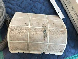 エアコンのハウスクリーニングを川崎市中原区今井南町にて【清掃事例982】