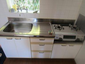 キッチンのハウスクリーニングを横浜市都筑区池辺町にて【清掃事例993】