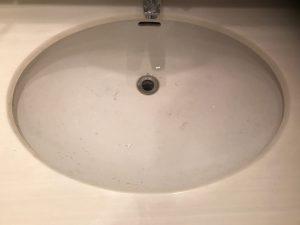洗面所のハウスクリーニングを川崎市多摩区宿河原にて【清掃事例1014】