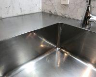 キッチン(シンク)のハウスクリーニングを川崎市多摩区堰にて【清掃事例1020】