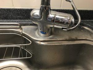 キッチン(シンク)のハウスクリーニングを川崎市川崎区砂子にて【清掃事例1076】