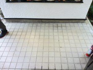 玄関(タイル)のハウスクリーニングを横浜市南区大岡にて【清掃事例1089】