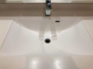 洗面所のハウスクリーニングを東京都世田谷区梅丘にて【清掃事例1096】