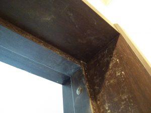 建具(柱)のハウスクリーニングを川崎市多摩区堰にて【清掃事例1111】
