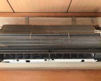 エアコンのハウスクリーニングを川崎市高津区二子にて【清掃事例1036】