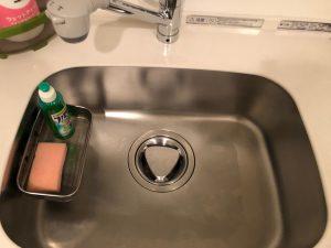 キッチン(シンク)のハウスクリーニングを横浜市西区北幸にて【清掃事例1393】