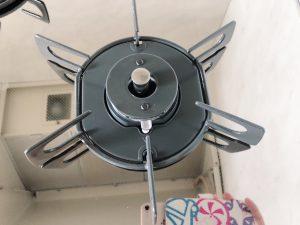 キッチン(五徳)のハウスクリーニングを東京都中央区日本橋横山町にて【清掃事例1419】