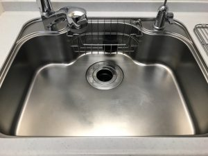キッチン(シンク)のハウスクリーニングを川崎市中原区等々力にて【清掃事例1442】