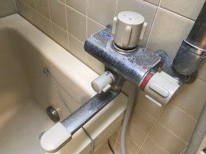 お風呂(浴室)のハウスクリーニングを川崎市中原区新丸子町にて【清掃事例1435】