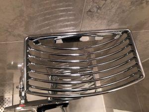 浴室(鏡)のハウスクリーニングを川崎市中原区上小田中にて【清掃事例1450】