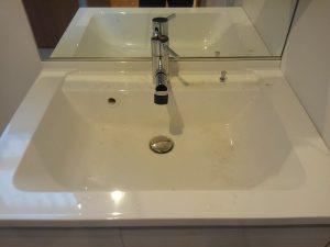洗面所のハウスクリーニングを川崎市宮前区犬蔵にて【清掃事例1468】