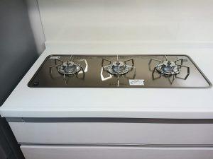 キッチン(五徳)のハウスクリーニングを川崎市中原区新城にて【清掃事例1463】
