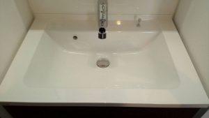 洗面所のハウスクリーニングを川崎市宮前区潮見台にて【清掃事例1481】