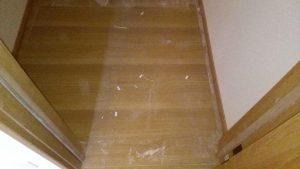 フローリングのハウスクリーニングを川崎市幸区南加瀬にて【清掃事例1520】