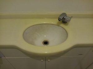 洗面所のハウスクリーニングを川崎市宮前区平にて【清掃事例1484】