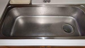 キッチン(シンク)ハウスクリーニングを川崎市宮前区東有馬にて【清掃事例1523】