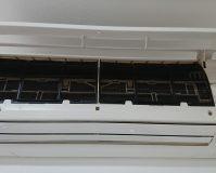 エアコンのハウスクリーニングを川崎市中原区木月伊勢町にて【清掃事例1588】