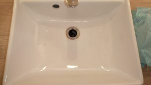 トイレ(手洗い)のハウスクリーニングを川崎市川崎区池上新町【清掃事例1560】