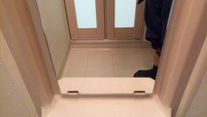 お風呂(浴室)のハウスクリーニングを川崎市麻生区白山にて【清掃事例1575】
