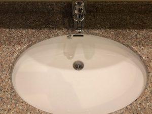 洗面所のハウスクリーニングを川崎市多摩区三田にて【清掃事例1544】