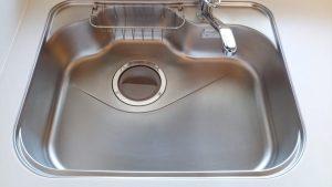 キッチン(シンク)のハウスクリーニングを川崎市麻生区虹ヶ丘にて【清掃事例1574】