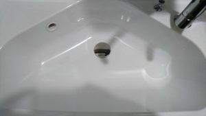 洗面所のハウスクリーニングを川崎市川崎区大師駅前にて【清掃事例1602】