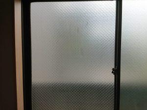 ガラスサッシのハウスクリーニングを川崎市川崎区大師駅前にて【清掃事例1603】