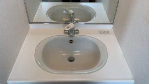 洗面所のハウスクリーニングを川崎市川崎区白石町にて【清掃事例1627】
