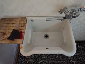 洗面所のハウスクリーニングを川崎市麻生区栗平にて【清掃事例1615】