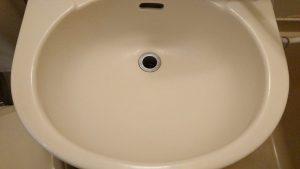 洗面所のハウスクリーニングを横浜市青葉区青葉台にて【清掃事例1612】