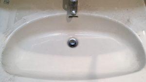 洗面所のハウスクリーニングを川崎市川崎区中瀬にて【清掃事例1606】